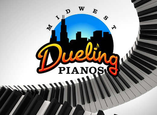 Pianist Tommy Sklut performs with Midwest Dueling Pianos in March