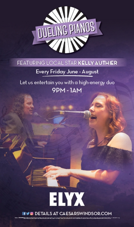 Dueling Pianos at ELYX in Ceaser's Windsor – 8/4