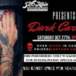 DARK Carnival at 526 MAIN/ Tequila BLUE 10/27