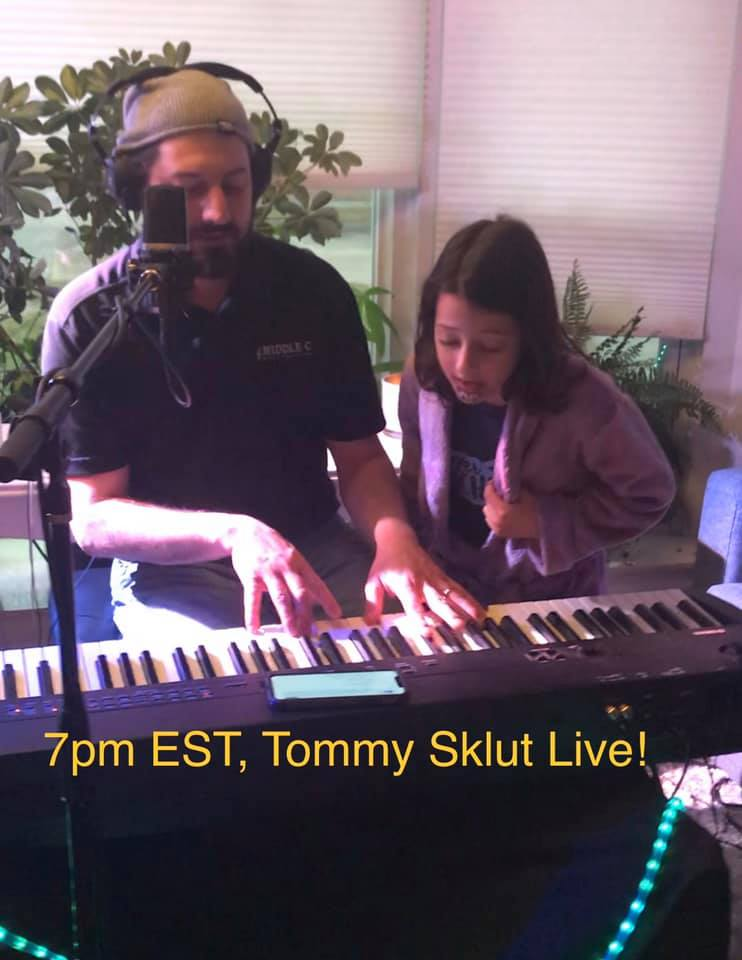 Tommy Sklut Live! Virtual Variety Show at 7pm – March/April
