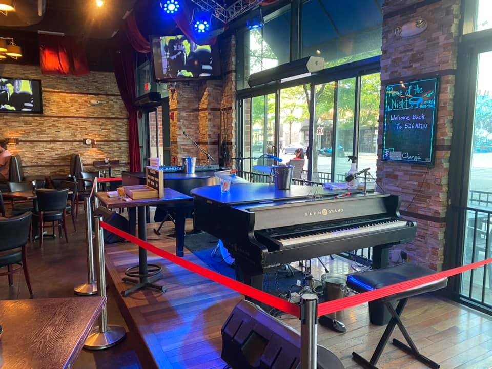 Dueling Pianos returns to 526 Main – June 2020